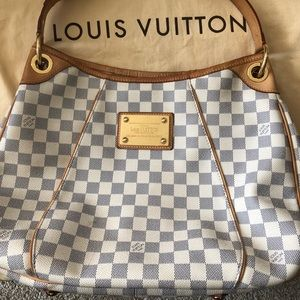 Louis Vuitton Galliera PM Azur Damien Shoulder Bag